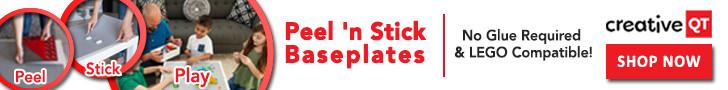 Peel n Stick baseplates