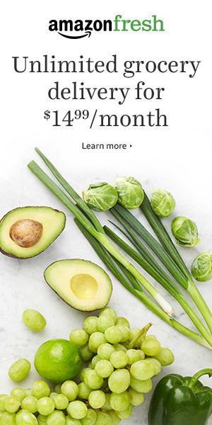 Fresh groceries delivery offer
