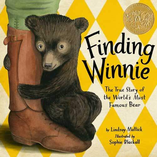 Finding Winnie: The True Story of the World's Most Famous Bear by Lindsay Mattick