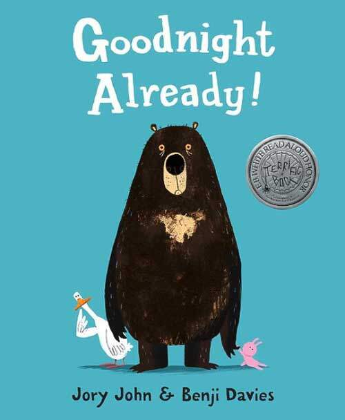 Goodnight Already! by Jory John - ideal grade k bedtime story